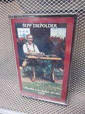 SEPP DIEPOLDER cassette tape NEW accordion Bavarian Alpine zither Tampa polka OG