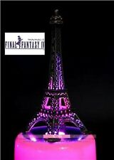 LED  EIFFEL TOWER & CIRCLE ROTATION MUSIC BOX: Final Fantasy IV Theme Soundtrack