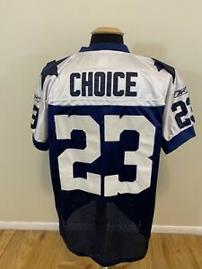 Reebok NFL On Field Dallas Cowboys Stitched Jersey Tashard Choice #23 Size 50 XL