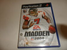 PlayStation 2 PS 2 madden nfl 2004