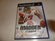 PlayStation 2  PS 2  Madden NFL 2004