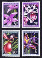 Australia Native Orchids 4v MNH SG#1032-1035 SC#997-1000