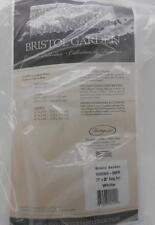 "Heritage Lace Bristol Garden White 72""X 36"" Delicate Bird Swag Set Curtains New"