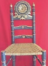 Great condition, gold leaf, vintage,Sicilian chair..