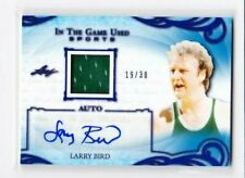 2019 LEAF IN THE GAME SPORTS LARRY BIRD AUTO JERSEY AUTOGRAPH # 19/30 CELTICS