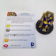 Heroclix Superman and Legion set Highfather #052 Super Rare figure w/card!