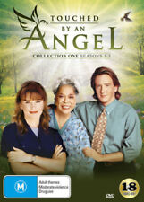 TOUCHED BY AN ANGEL - SEASON 1 2 & 3 box set-   DVD - UK Compatible - New sealed