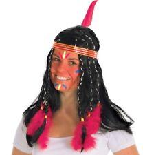 Indianer Perücke Indianerperücke Irokese Irokesenperücke Indianer Zubehör Fasnet