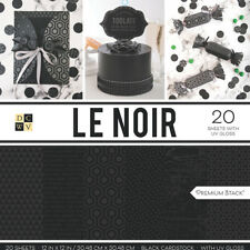 "American Crafts Card Stock 12"" X12"" Le Noir Premium Printed Cardstock Stack"