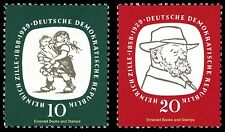 EBS East Germany DDR 1958 Heinrich Zille Michel 624-625 MNH**