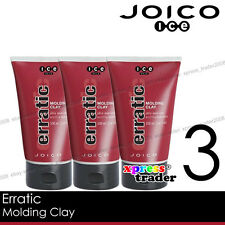 Joico ICE Erratic Hair Molding Clay 100ml 3.4oz 3pcs