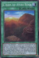 YU GI OH - L'ALBA AD AYERS ROCK - DRLG-IT020 - SUPER RARA 1° ED.