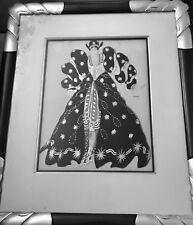 Leon Bakst, For the Ballet 1914 original signed costume sketch
