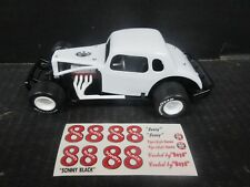 # 88 Sonny Black Coupe Modified 1/25th scale Die-Cast donor kit