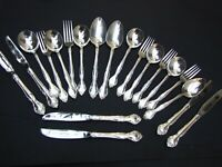 Vintage 20 Pieces Community Silver Plated Part  Cutlery Set VGC