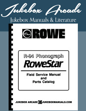 NEW! ROWE Model R-94 Service Manual and Parts Lists with Troubleshooting Guide