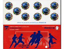 French Postage Stamps - Booklet of 10 stamps Coupe du Monde de Football France 1