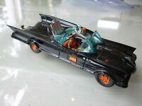 Rare Corgi Toys 267 Batmobile 1966/67 w Trailer Hitch red bat wheel covers