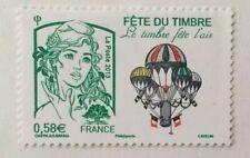 Timbre France 2013 YT 4809. Marianne Ciappa, fête du timbre