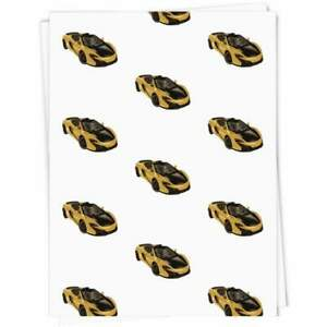 'Sports Car' Gift Wrap / Wrapping Paper / Gift Tags (GI022624)