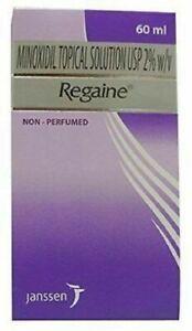 Neuf Regaine Minoxidil 2 % Cuir Chevelu Solution Perte de Standard Force 60