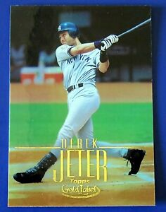 2002 TOPPS GOLD LABEL DEREK JETER BASEBALL CARD #2 ~ NY YANKEES ~ NM/MT