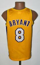 NBA LOS ANGELES LAKERS BASKETBALL SHIRT #8 BRYANT CHAMPION SIZE XS ADULT