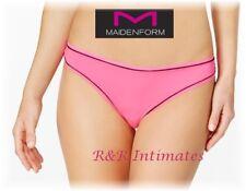 Maidenform Sport Thong, #MSPTHG, Bright Pink, Size 2XL