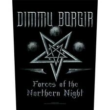 OFFICIAL LICENSED - DIMMU BORGIR - FORCES OF THE NORTHERN LIGHT BACK PATCH BLACK