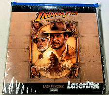 ~Vintage~Indiana Jones and The Last Crusade Letterbox Edition Laser Disc