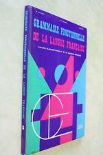 grammaire fonctionnelle de la langue française 1973 spécimen
