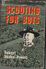 Scouting for Boys.  Robert Baden Powell A Handbook for Instruction in Good Citiz