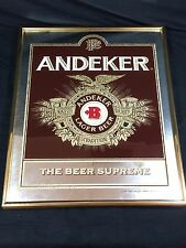 Andeker Beer Mirror Vintage Beer Sign Pabst Brewing Co