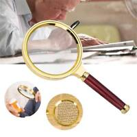 10X Magnifier Glass Magnifying Cool 90mm Handheld Jewelry Loupe Reading 60 mm
