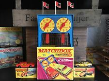 MATCHBOX 2x Superfast No. 20a & no. 56a +sf-18 LAP COUNTER MINT OVP from 1970/71
