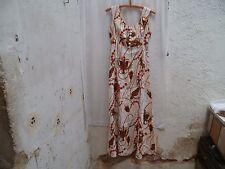 Superbe Robe Longueur Vintage Années 1980 Taille 36