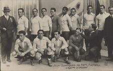 FOOTBALL JUEGOS OLIMPICOS 1924  EQUIPE DE URUGUAY 160  REAL PHOTO