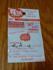 Cal-Scale #420 Nathan Diesel Air Horn (Brass Casting) -- 3-Chime P3