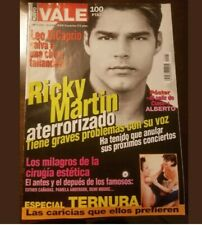 Two Very Rare Ricky Martin Vale magazines, Back issues from 1999