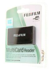 FUJIFILM MEMORY CARD READER MULTI CARD READER USB 1.1/2.0 SD CF XD MMC MMC MORE