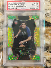 2016 Panini Prizm Multi Color Refractor Christian Pulisic RC PSA 10