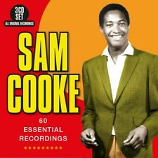 Sam Cooke 60 ESSENTIAL RECORDINGS Best Of Collection NEW SEALED 3 CD