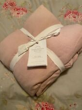 New ListingPottery Barn Foundations Belgian Flax Linen Duotone Duvet Cover King Pink Rose