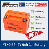 12V BATTERY YTX9-BS GTX9-BS CTX9-BS YTX9-BS GEL 10AH 135CCA Motorcycle Battery