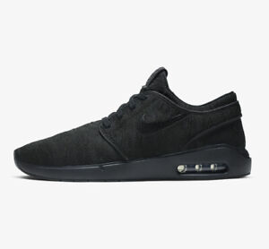 Nike Air Max Stefan Janoski 2 Mens Trainers Black Multiple Sizes New RRP £110.00