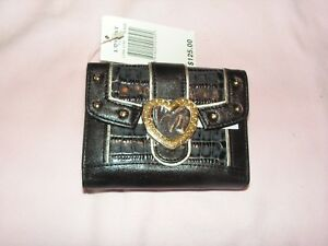 Lovcat Leather Wallet New With Tag $125.00 Vegas Babee