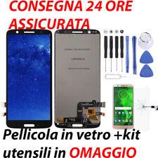 DISPLAY TOUCH SCREEN MOTOROLA MOTO G6 XT1925 NERO LCD VETRO SCHERMO LENOVO