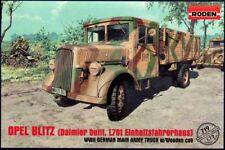 Roden 1/72 Opel Blitz (DAIMLER-BENZ L701) CON CABINA IN LEGNO # 719