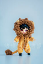 Lion Animal Pajamas OB11 Clothes  For Molly GSC Figure Clothing Handwork Sa