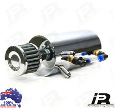 Oil Catch Can With Breather - Suits NISSAN 4X4 4WD GQ GU PATROL NAVARA